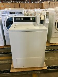 Mvw18pd Maytag Commercial Top Load Coin Operated Washing Machine Used