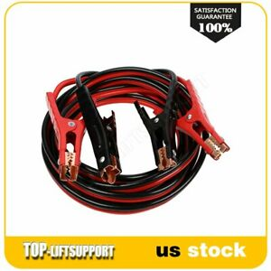 6 Gauge Booster Jumper Cables 16 Ft Power Booster Cable Emergency Car Truck