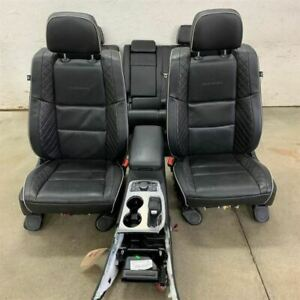 Front And Back Row Seat Set W Floor Console 14 19 Grand Cherokee 2161393