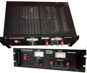 Ps52kx 52a 13 8 v Regulated Power Supply W Built in Cooling Fan 120vac 12vdc Bi