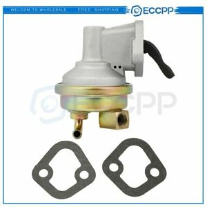 For Chevy Sbc 350 327 383 400 Mechanical Fuel Pump 3 8 Npt Fitting 40gph Sbc