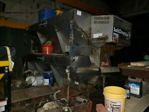 2 Western Snow Plows 2 Salt Spreaders And Parts