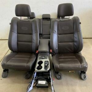 14 19 Grand Cherokee Overland Seat Set Leather 23k Mi 2136612