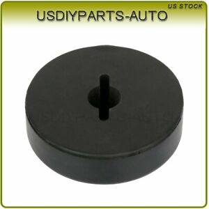 1pcs Winch Split Cable Hook Stop Stopper Rubber Cushion Atv Utv Black