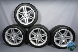 Mercedes W204 C250 C300 C63 Amg Factory Wheel Rim Rims 17 X 7 5 8 5 Set Of 4