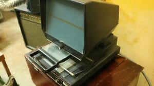 Bell Howell Microfiche Microfilm Viewer Reader Model Bh810 Made In Usa
