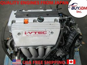 2003 2007 Honda Accord K24a Type S Engine K24a I vtec Engine Automatic Tranny