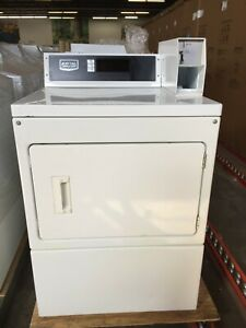 Mdg18pd Maytag Coin Operated Commercial Gas Dryer Used