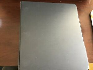 3 Ring Binder For School And Office Black 1 1 2 Inch