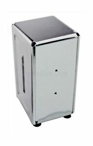 New Star Foodservice 24074 Stainless Steel Tall Napkin Dispenser 3 875 By 4