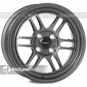 Circuit Performance Cp37 15x7 4 100 28 Gun Metal Wheels Rpf1 Style set Of 4