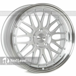 Circuit Performance Cp30 18x8 5 114 3 35 Silver Wheels Lm Style Set Of 4