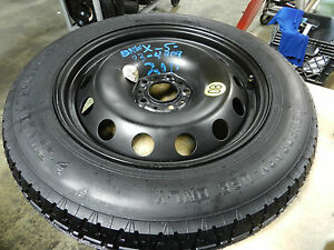 07 08 09 10 11 12 13 14 15 16 17 18 Bmw X5 Spare Tire Wheel Donut 18 165 90 18