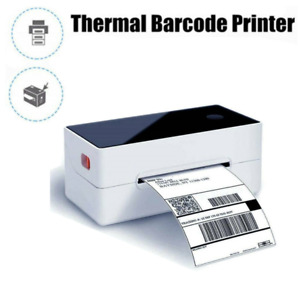 4x6 Direct Thermal Printer Shipping Label Maker Usb Barcode Printer With Labels