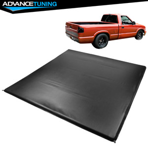 Fits 94 04 Chevy S10 Gmc S15 6 Ft Truck Bed Quad Four Fold Led Tonneau Cover