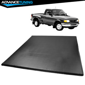 Fits 83 11 Ford Ranger Flareside 5 8 Truck Bed Tri 3 Fold Led Tonneau Cover