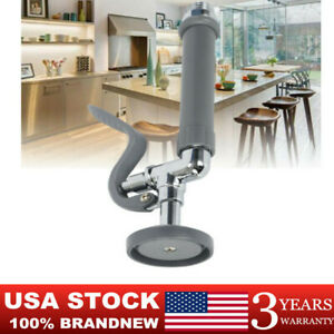Kitchen Faucet Pre rinse Sprayer Sink Spray Head Valve Commercial Restaurant Usa