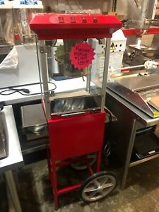 Popcorn Machine With Cart Model 025pmr06