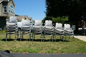 23 Herman Miller Flexnet Caper Stacking Chairs