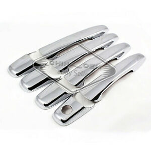Chrome Abs 4 Door Handle Covers For Mitsubishi Endeavor 2004 05 06 07 2008 2009