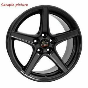 1 New 18 Replacement Rear Wheel For 1994 2004 Ford Mustang Saleen Rim 8169