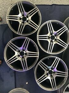 Mercedes Oem Amg Staggered Wheel Set 19 Sl 2009 2012 Also Fits Others