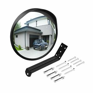 Ovsor Convex Mirror Outdoor For Garage And Traffic Driveway Park Assistant 1