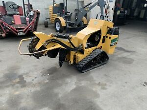 2013 Vermeer Sc30tx Walk Behind Stump Grinder Self Propelled Auto Sweep