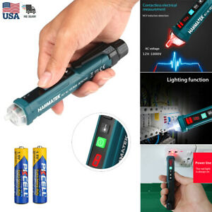 Digital Led Ac Electric Voltage Detector Sensor Non contact Tester Pen 12 1000v