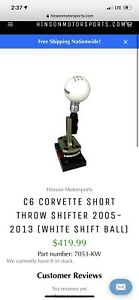 C6 Corvette Hinson Short Throw Shifter 2005 2013