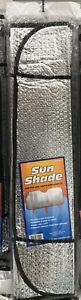 Auto Windshield Sun Shade Car Cover For Both Sides Silver 51 X24
