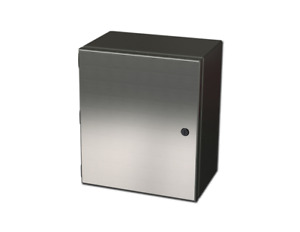 606eljss 304 Stainless Steel Junction Enclosure 6 X 6 X 4 W back Panel