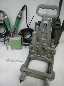 Mcelroy 2 Pipe Fusion Machine Includes Facer And 2 Heating Iron