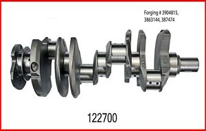 Crankshaft W Bearings Fits 1966 1985 Chevrolet Bbc 427 7 0l Ohv V8