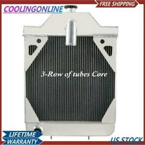 A35604 A39344 3 Row Radiator For Case 430 530 580 580b 480c 430ck 580b Tractor