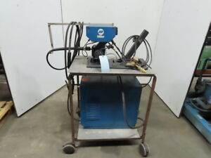 Miller Cp200 S 52e 200 230 460v 200a Wire Feed Welder On Cart