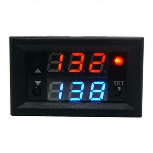 12v T2302 Timing Delay Relay Module Cycle Timer Digital Led Dual Display Us