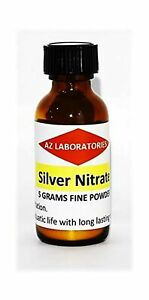 Silver Nitrate Crystals powder 5 Grams finest Quality 99 99 Usa Made s