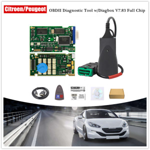 Pp2000 For Citroen Peugeot Diagnostic W Diagbox V7 83 Software Full Chip Scanner