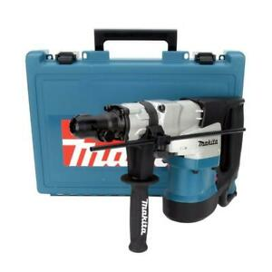 12 Amp 1 9 16 Inch Corded Spline Concrete Masonry Rotary Hammer Drill Carry Case