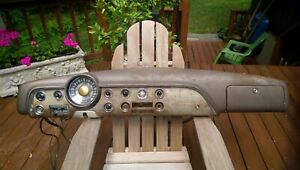 1951 Ford Passenger Car Dash Dashboard Gauges Trim Speedometer Oem 1949 1950