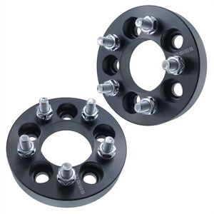 2 1 Inch 25mm Wheel Spacers 5x100 Fits Chrysler Dodge Plymouth 5 Lug 12x1 5