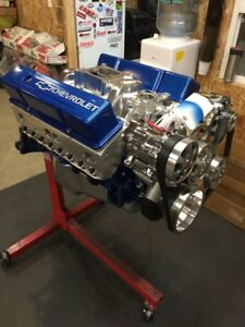 383 Efi Crate Engine Cnc Stroker Motor 525hp A C Roller Chevy Turn Key