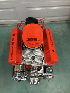 350 Street Motor 425hp Roller Turn Key Pro Street Chevy Crate Engine Sbc 355 Ls