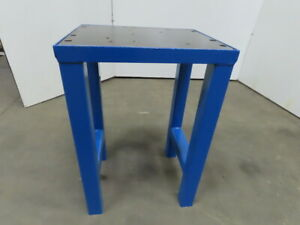 2 Thick Top Steel Machine Base Welding Table Work Bench 24 x19 x36