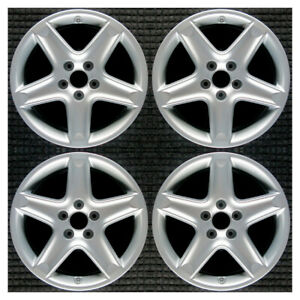 Set 2004 2005 Acura Tl Oem Factory 42700sepa11 Original Silver Wheels Rims 71733