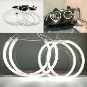 Ccfl Angel Eyes Halo Rings For Holden Commodore Ve Series 2 2009 2010 Headlight