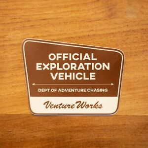 Jeep Overland Sticker Decal Wrangler Rubicon Gladiator Expedition National Parks