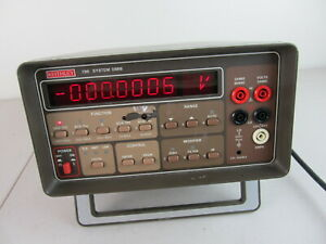 Keithley 196 System Dmm Digital Multi Meter Benchtop Tested Working