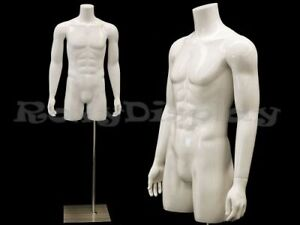 Male Mannequin Torso With Nice Body Figure And Arms md tmws